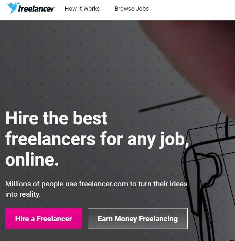 موقع فريلانسر.كوم (Freelancer.com)